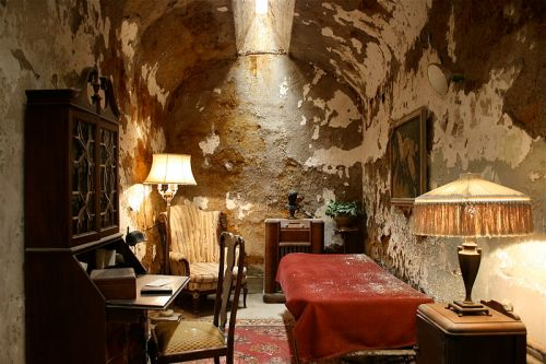 Capone cell Eastern State Penitentiary